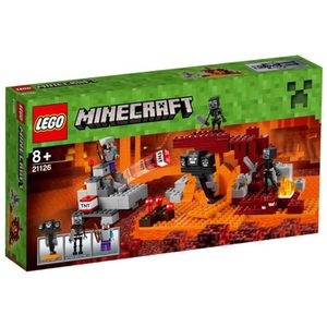 ASSEMBLAGE CONSTRUCTION LEGO® Minecraft 21126 Le Wither