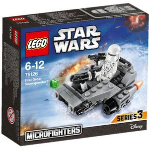 ASSEMBLAGE CONSTRUCTION LEGO® Star Wars™ 75126 First Order Snowspeeder™