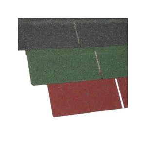 PLAQUE - BARDEAU Bardeau bitumé thermocollant (kit de 2 m²) - L: 1