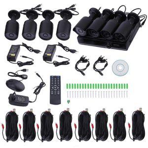 CAMÉRA DE SURVEILLANCE 8 pcs CH720PAHD kit de caméra de surveillance avec