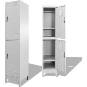 ARMOIRE DE BUREAU Luxueux Magnifique-Armoire a casiers armoires de r