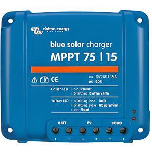 KIT PHOTOVOLTAIQUE Régulateur solaire 12/24V BlueSolar MPPT 75/15 …