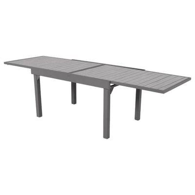 Table extensible composite Piazza 6/10 places Noir/Tonka