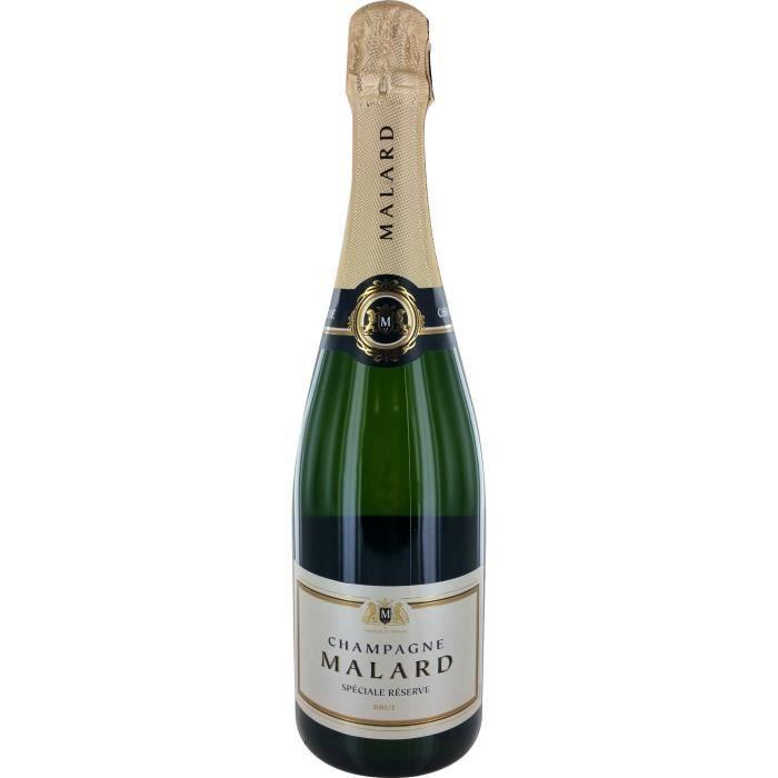 Champagne Malard Réserve Spéciale Brut - 75 cl