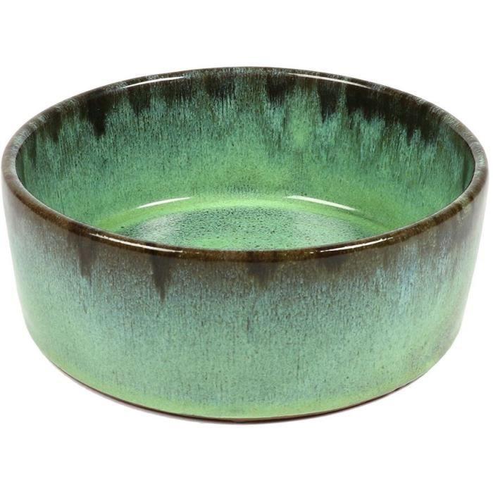D&D Chien Trendy Mangeoire Jasper vert 16x16x6cm 0,54Kg