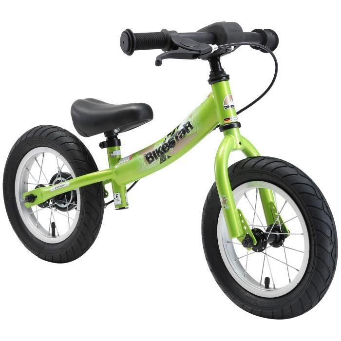 BIKESTAR - Draisienne - 12 pouces - pour enfants de 3-4 ans - Edition Sport - garçons et filles - Vert
