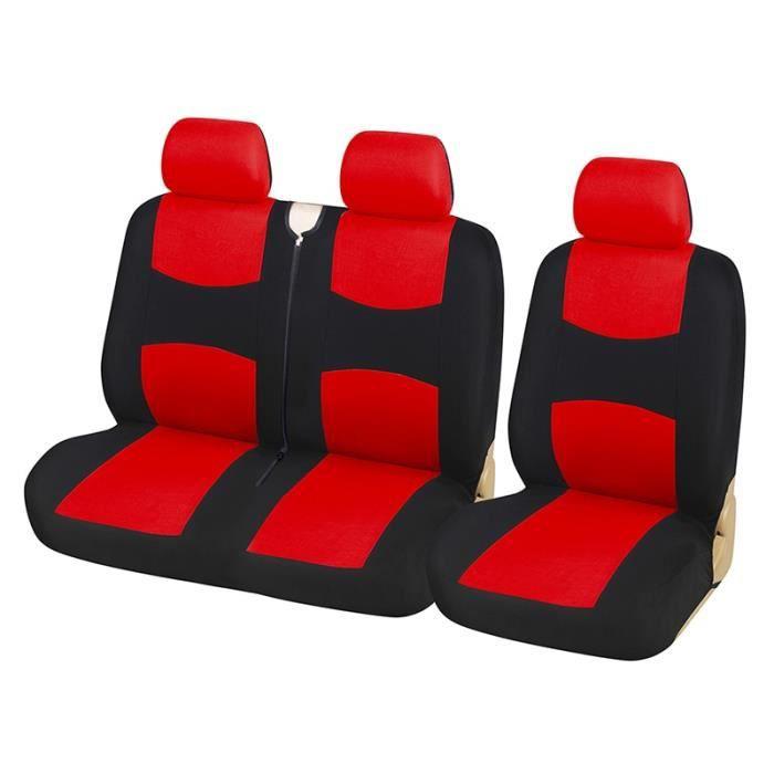 Housses de siège universelles pour camion, couvre siège de 1 + 2, couvre siège pour véhicule, pour Ren RED