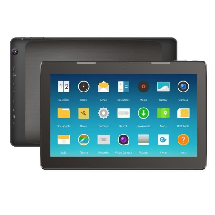 Tablette Pc, Android, 13.3 Pouces, 2Gb+16Gb, Noir