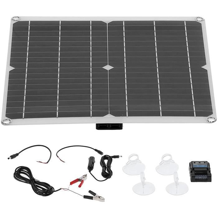 Panneau Solaire, Panneau de Batterie de Voiture Solaire étanche générateur Solaire contrôleur de Batterie de Voiture Solaire p[351]