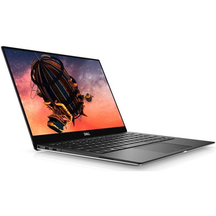 PC Ultraportable - DELL XPS 13 7390 - 13,3- FHD - Core i3-10110U - RAM 8Go - Stockage 256Go - Windows 10 - AZERTY