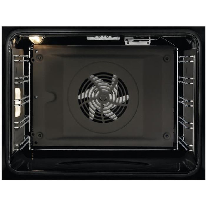 electrolux - four intégrable multifonction 72l 60cm a catalyse inox - eoa3404aax