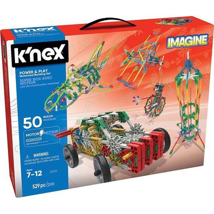 Jeu de construction motorisé Knex Imagine : Super box avec moteur aille Unique Coloris Unique
