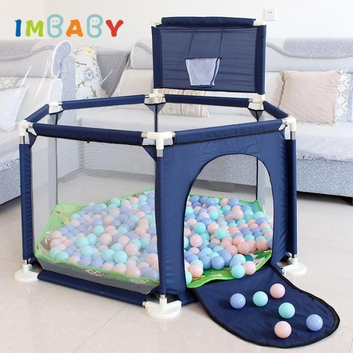IMBABY parc pour enfants parc piscine balles bébé parc pour 0-6 ans piscine à balles pour bébé clôture enfants tente bébé piscine à