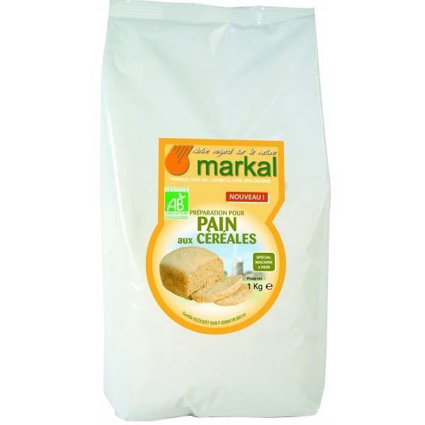 Farine pour pain aux céréales et graines, 1kg, ...