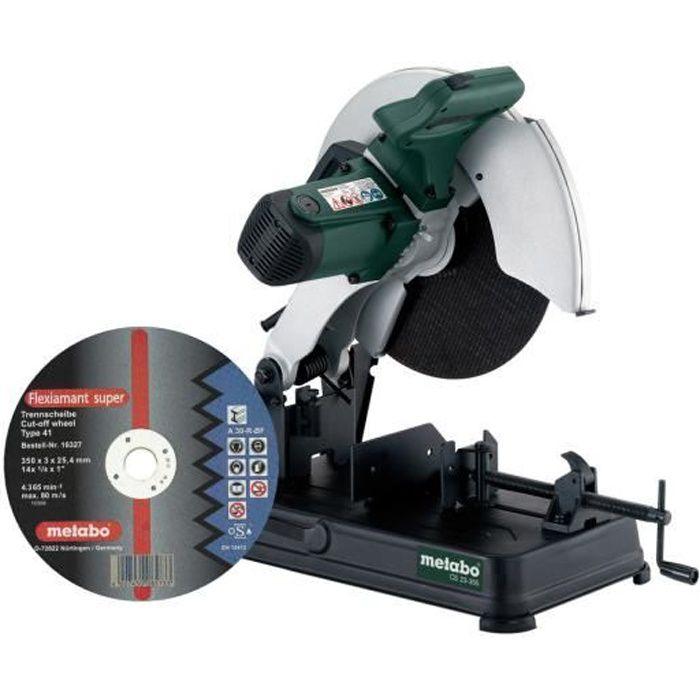 Metabo CS 23-355 SET Scie … m'taux - 2300W - 355mm 602335850 avec la disque Flexiamant Super