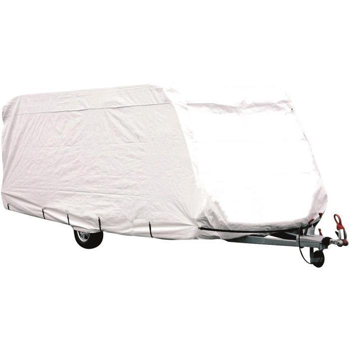 MIDLAND Housse de Protection Pour Caravane 650 cm