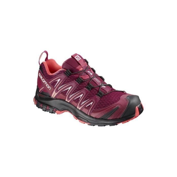 XA PRO 3D W - Chaussures randonnée femme Beet Red / Cerise. 41 1/3