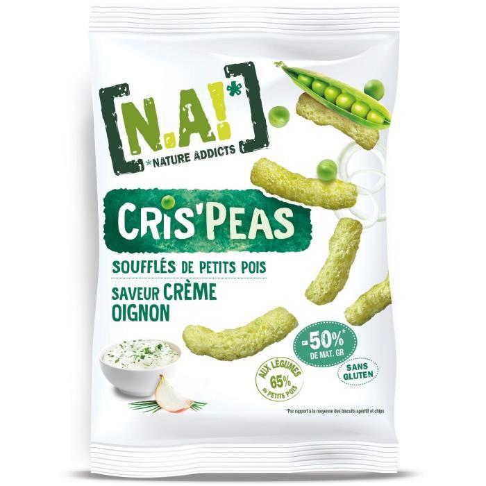 N.A Crispeas Sachet saveur Crème Oignon - 50 g