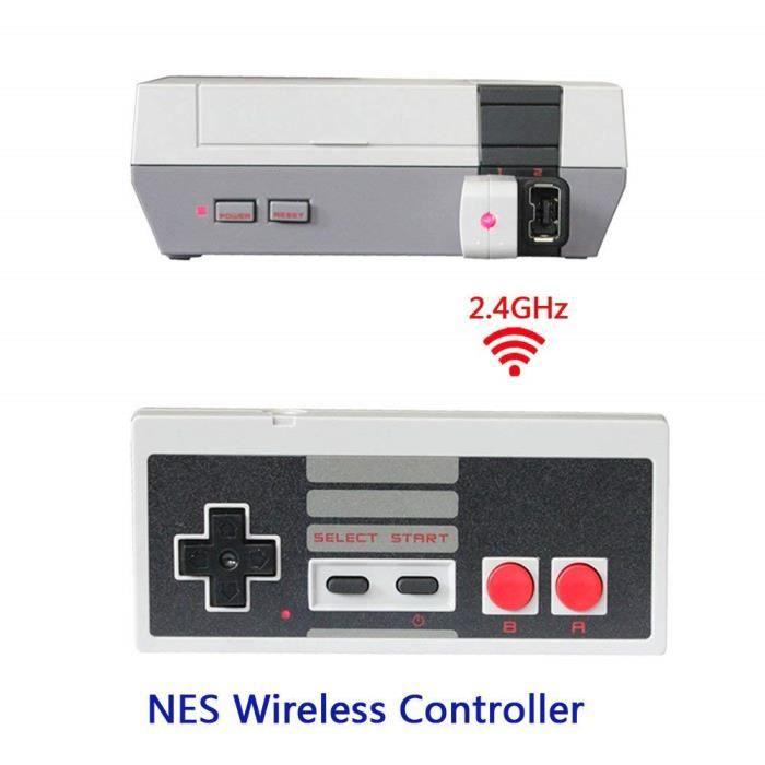 Manette NES contrôleur sans fil avec Batterie pour Nintendo Nes classic Edition