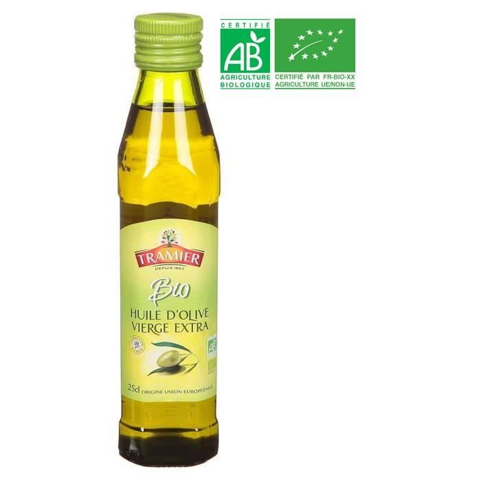 TRAMIER Huile d'Olive vierge extra Bio - 25 cl