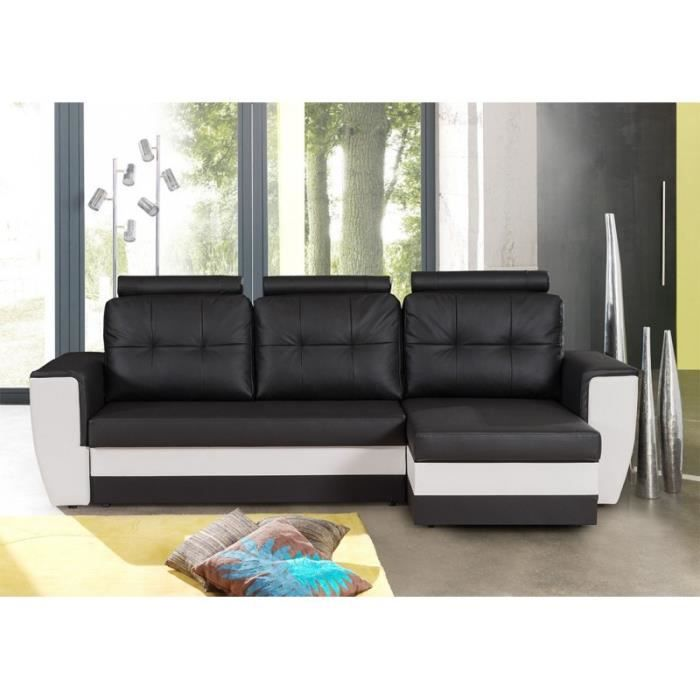 stuttgart canap d 39 angle convertible r versible achat. Black Bedroom Furniture Sets. Home Design Ideas