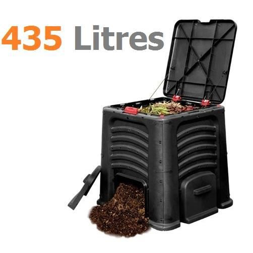 bac compost 435 l achat vente composteur. Black Bedroom Furniture Sets. Home Design Ideas