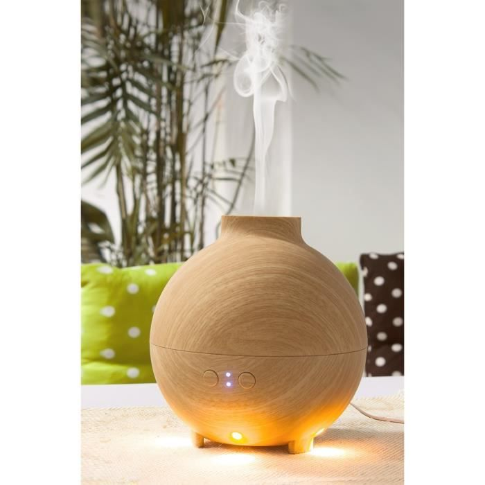 aromath rapie humidificateur d 39 air huile essentielle diffuseur 600ml ultrason avec led lumi res. Black Bedroom Furniture Sets. Home Design Ideas