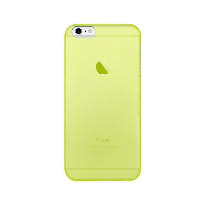 coque iphone 6 jaune fluo