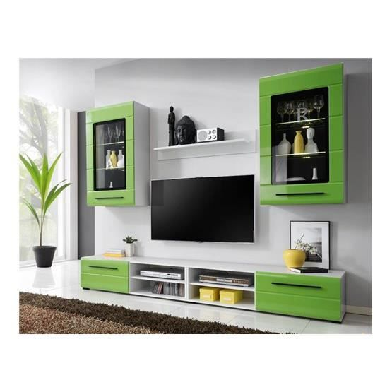 meuble mural cuisine blanc cuisine vert pomme et blanc cuisine vert et marron with meuble. Black Bedroom Furniture Sets. Home Design Ideas