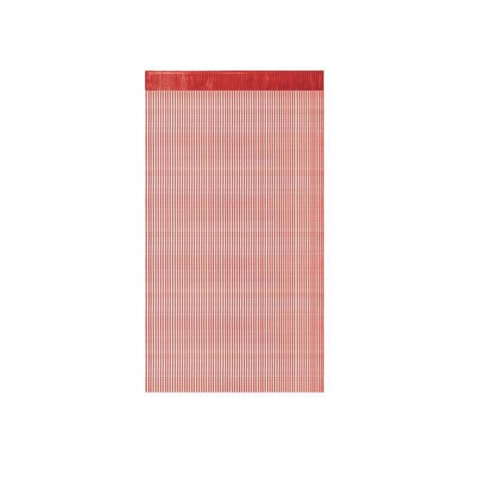 RIDEAU 1 Rideau à fils paillettes 90x240cm Rouge