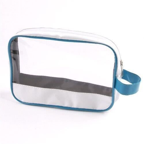 trousse maquillage transparente