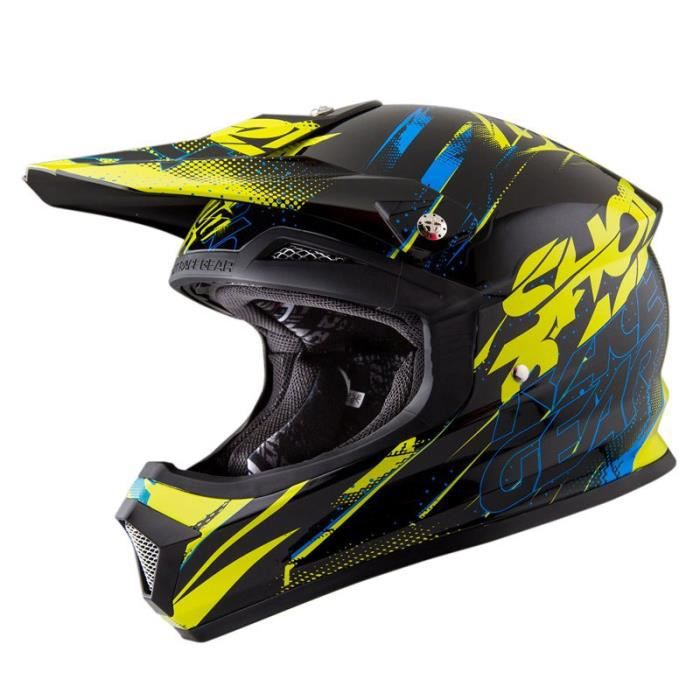 casque moto cross shot race gear