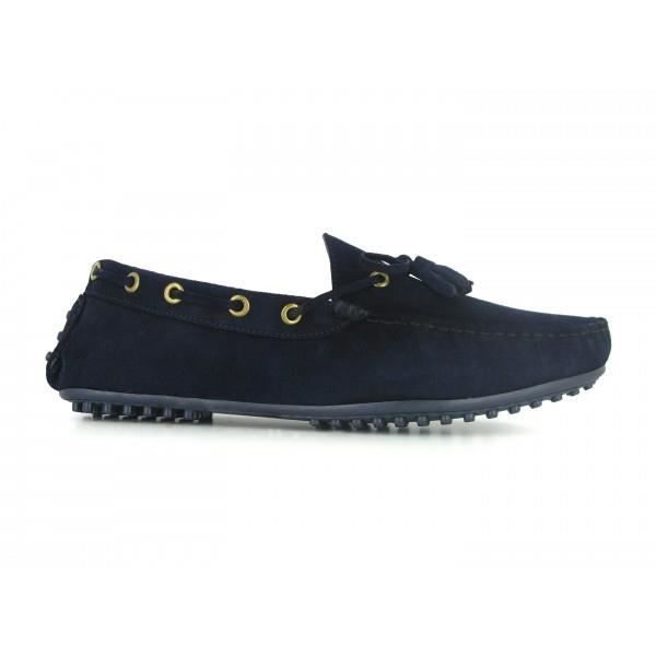 MOCASSIN Mocassin Pierre Cardin Cuir Marine PC1605BE - Coul