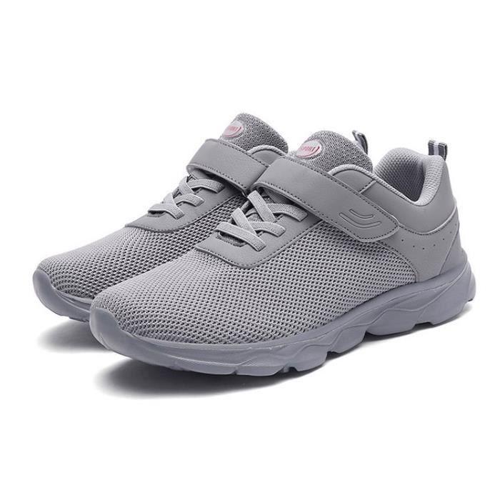 Sport-Velcro Chaussure Bleu Baskets Sneaker Chaussures Chaussures De Course Chaussures De Loisirs 42