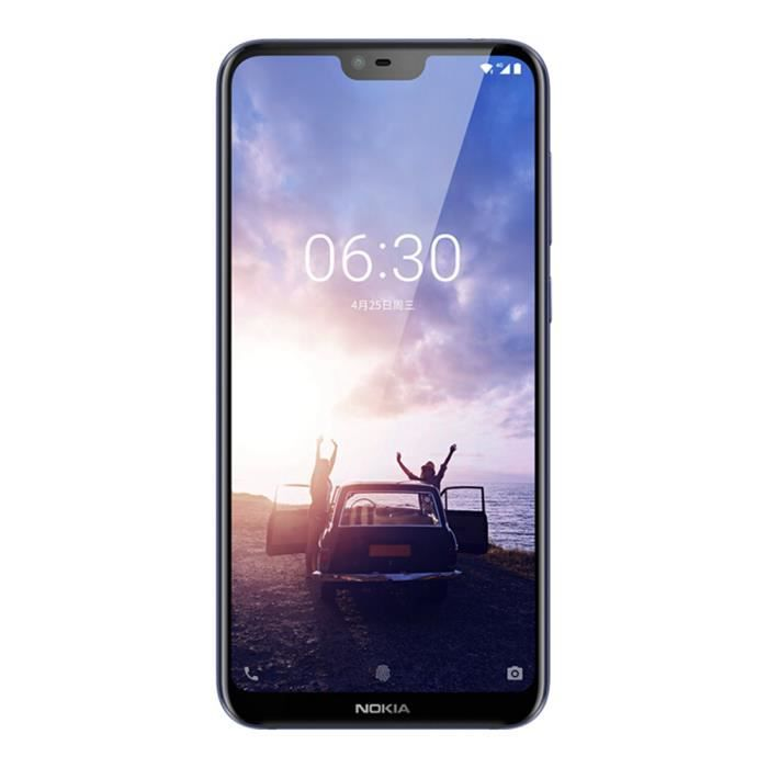 SMARTPHONE Nokia X6 6 Go + 64 Go Smartphone double sim d'usin