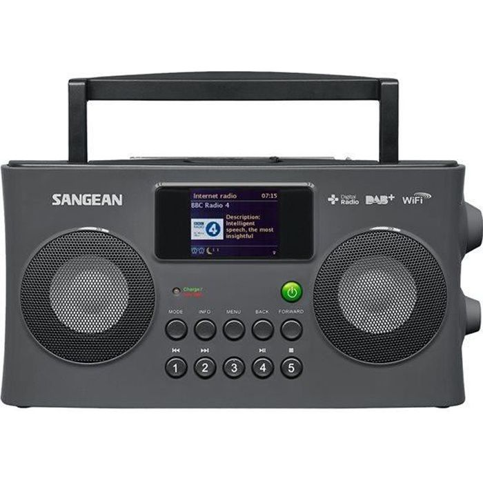 sangean wfr29c radio portable fusion gris radio cd cassette avis et prix pas cher soldes. Black Bedroom Furniture Sets. Home Design Ideas