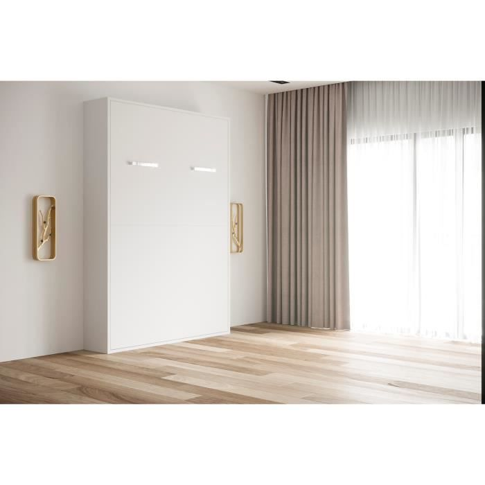 Lit repliable mur great lit repliable mur with lit for Armoire une personne