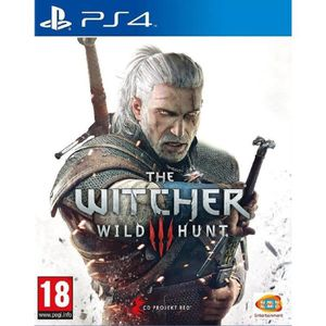 JEU PS4 The Witcher 3 : Wild Hunt Jeu PS4