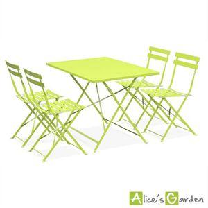 Salon de jardin Alice\'s garden - Achat / Vente Salon de ...