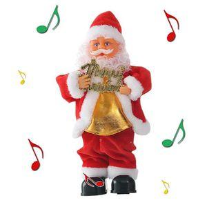 Noël animé de la musique et danse Deer 33 cm