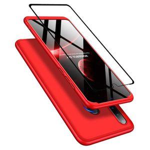 HOUSSE - ÉTUI Coque Huawei P30 Lite,coque + Verre Trempé 360 deg
