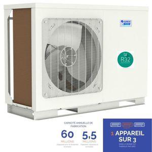 POMPE À CHALEUR VERSATI III monobloc MB 8 - 7.5 kW -25° pompe a ch