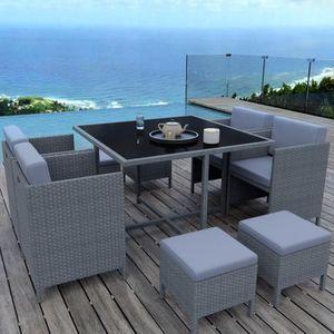 MUNGA 8 Places - Ensemble encastrable salon - table de ...