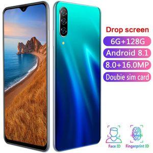 Téléphone portable A50 Pro 6.26 Pouce Goutte D'Eau Plein Ecran Versio