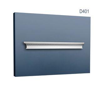 LAMBRIS BOIS - PVC Fronton Encadrement de porte Orac Decor D401 LUXXU