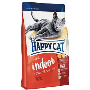 CROQUETTES Happy Cat Fit-Well Indoor Croquette Bœuf pour Chat
