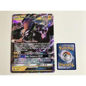 CARTE A COLLECTIONNER Carte Pokemon TOKORICO GX SM50 - Format Jumbo