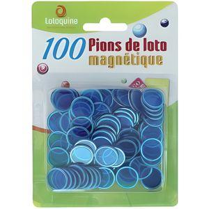 LOTO - BINGO 100 pions de loto magnétiques - LOTO / BINGO
