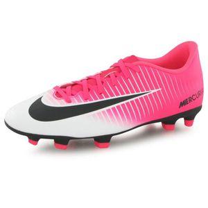 CHAUSSURES DE FOOTBALL Nike Mercurial Vortex Iii Racer Fg rose, chaussure