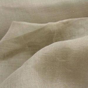 TISSU Tissu Voile de Lin Ficelle - Tissu au mètre - Quar